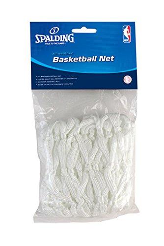 Spalding Allwetter-Basketballnetz (weiß)