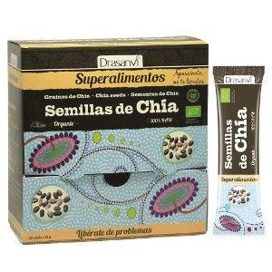 Drasanvi Stick Zaden Chia Bio 20 x 10 g Superalimtes Drasanvi - 0