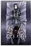 chuanglanja PóSter Y Estampados 60 * 90cm Sin Marco Póster de decoración de Dormitorio Familiar Moderno con impresión de Imagen artística de Anime Zabuza y Haku