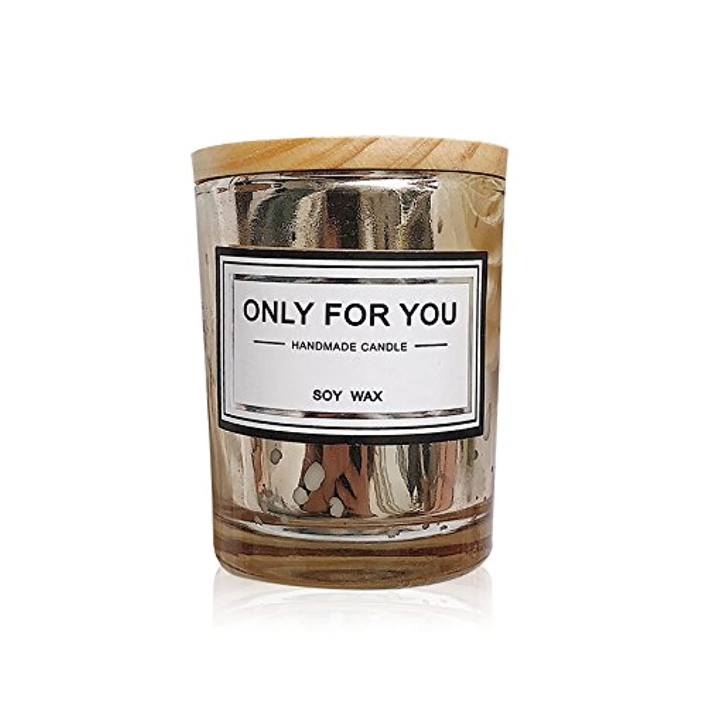 V-style fashion Scented Candles 50 Gram Gold Plated 100% Natural Eco-friendly Soy Wax Glass Candle,Handmade Jar Candles One Piece yctynrjdf