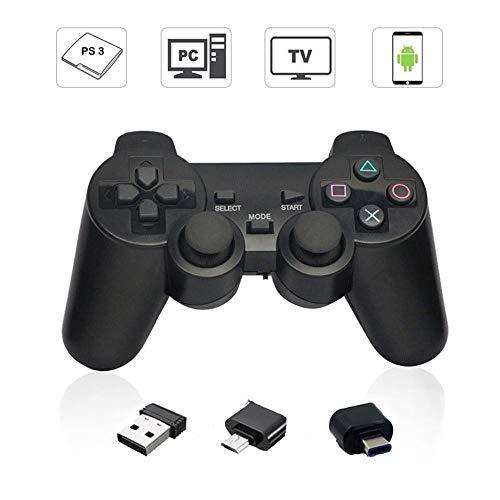 Draadloze Gamepad PC 2.4G Draadloze Joystick Joypad Game Controller Afstandsbediening voor PS3 Android Telefoon TV Box Geschikt voor OTG Smartphone (alleen Android)