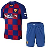 """GOLDEN FASHION Barcelona Home KIT Football Jersey with Short 2019-20 (XL 42"""")"""