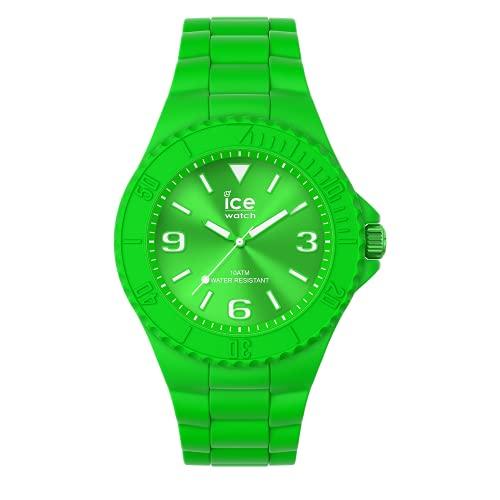 ICE-WATCH ICE Generation Flashy Green - Reloj Verde para Hombre con Correa de Silicona, 019160 (Medium)