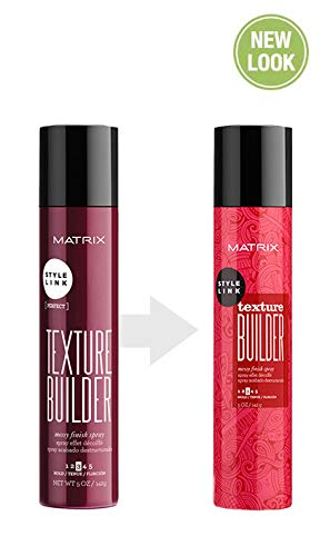 MATRIX Style Link Texture Builder Messy Finish Hairspray | Adds Hold To Soft Texture | Medium Hold | For All Hair Types | 5 Oz.