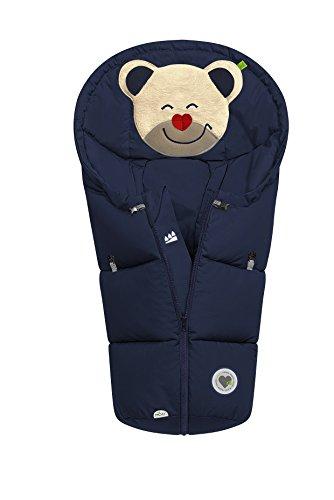 Odenwälder BabyNest Fußsäckchen Mucki classic | 11432-290 | passend für Schalensitze der Gruppe 0, Softragetaschen und Hartschalen | marine