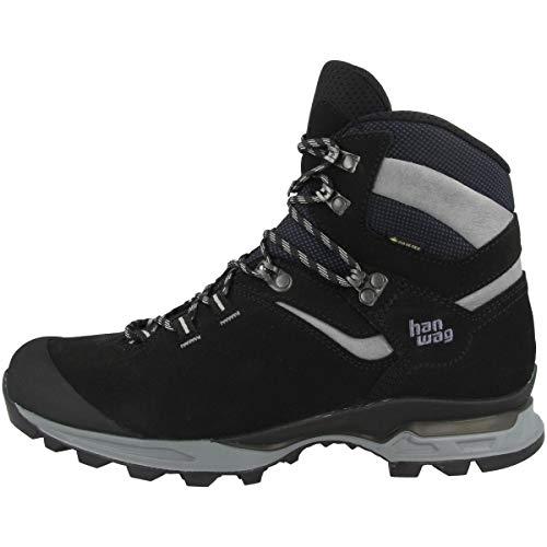 Hanwag Tatra Light GTX Bottes de randonnée et de trekking pour homme - Noir - Black Asphalt., 42 EU