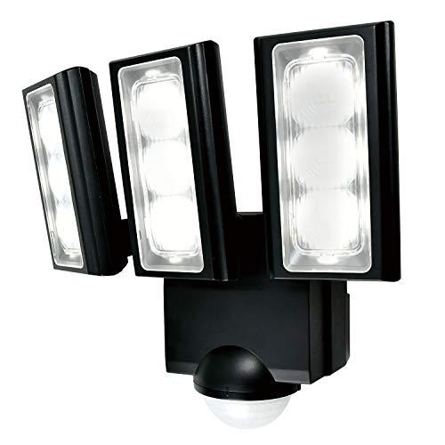 ELPA エルパ 乾電池式 センサーライト 3灯 省エネ 安心の防水仕様 広範囲照射可能 フラッシュ・赤点滅機能搭載 ESL-313DC