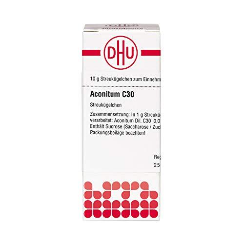 DHU Aconitum C30 Streukügelchen, 10 g Globuli