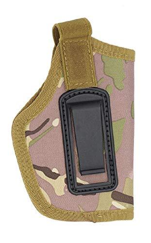 Pistolera Pistola Airsoft Caza Oculto Derecho Izquierdo Cinturón marrón Camuflaje