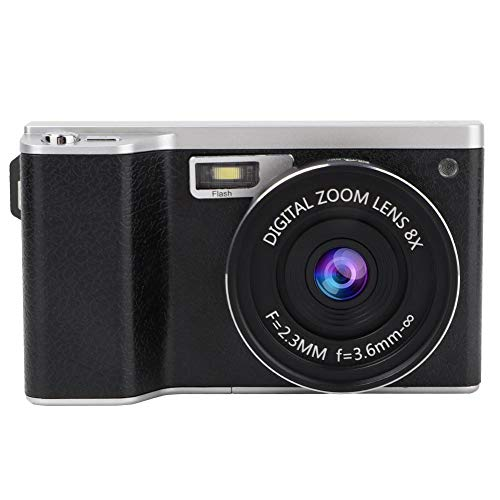 Great Price! Digital Camera, 4 Inch 24MP 1080P Ultra HD IPS Touch Screen Mini Pocket Camera Support ...