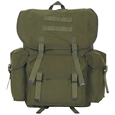 Fox Outdoor Products NATO Style Rucksack, Olive Drab, 19 x 12-Inch