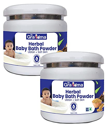 Atome ByGrandma Homemade Herbal Baby Bath Powder Full Body Wash for Babies   Smooth Skin for Baby   Natural Body Wash for Baby   1 Kg