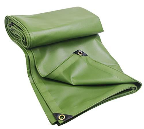 TRNCEE Green Waterdichte Zonnescherm Awning Tarpaulin Polyester Doek + PVC Gecoat Dak Boot Multi-Functie Outdoor 6x8m