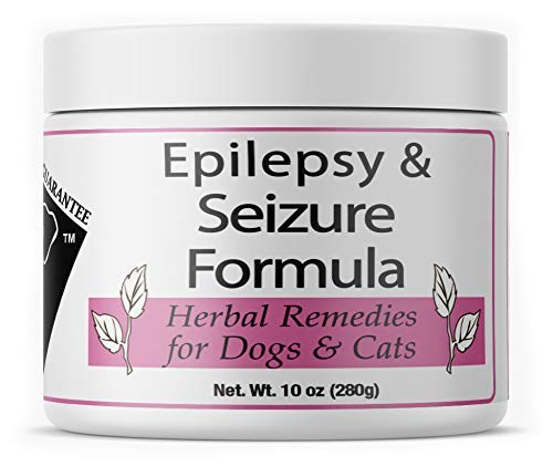 Doc Ackerman's - Epilepsy & Seizure Formula - Professionally Formulated Herbal Remedy for Dogs & Cats | Enhanced with Valerian Root, Blue Vervain & Passion Flower - 10 oz
