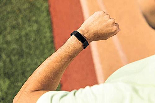 FitbitフィットビットフィットネストラッカーInspire超軽量20gタッチスクリーン操作耐水50m着信/SMS/アプリ(LINE/Twitter/Facebook)通知iOS/android対応睡眠記録歩数&距離&カロリー記録L/Sサイズ【日本正規品】FB412BKBK-FRCJK