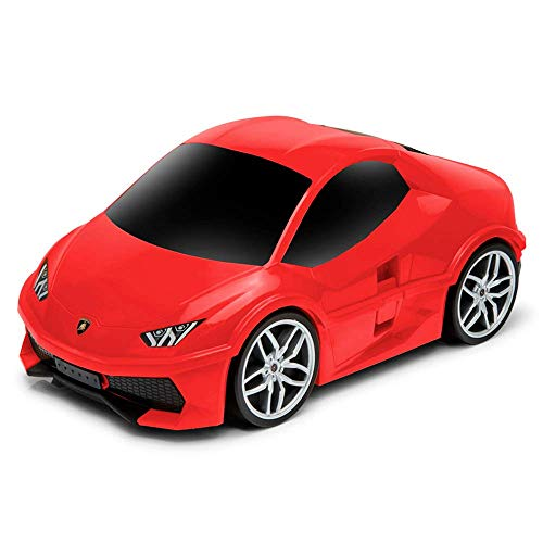Ridaz Kids Travel Gepäck Handkoffer - Lamborghini Huracan - Rot
