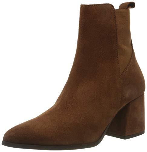 VERO MODA Womens VMJOY Leather Boot Stiefel, Emperador, 40 EU