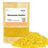 BALFER 100% Reine Bienenwachs Pastillen Bio 300g, für Kosmetik, Kerzen, Cremes, Salben, Seifen,...