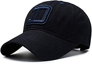 ZJSWIN Hat Male Spring and Summer New Baseball Cap Outdoor Sun Visor Female Casual Cap (Color : Navy)
