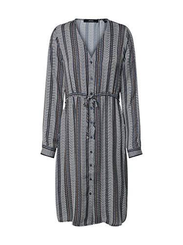 Vero Moda dames jurk VMJUNA L/S KNEE SHIRT DRESS WVN
