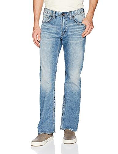 Silver Jeans Co. Herren Craig Bootcut Jeans, Light Marble Indigo, 31W / 32L
