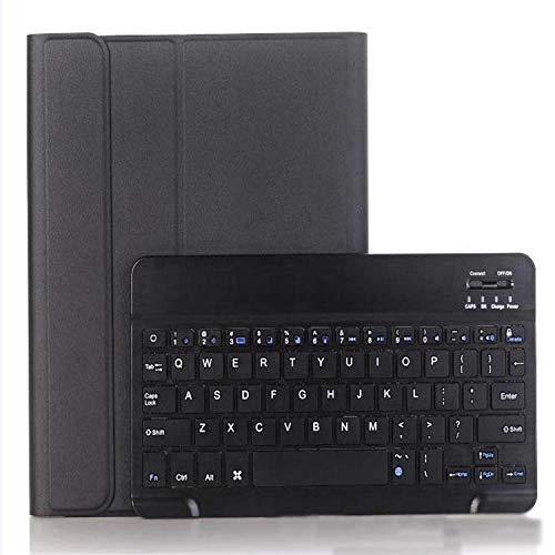 longeg Caja del Teclado de la Tableta para la pestaña Galaxy A7 SM T500 Teclado + Conjunto de Estuches Protectores SM T500 10,4 Pulgadas Keyboard Bluetooth T500 Teclado Bluetooth