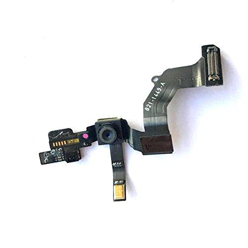 Mobofix Sostituzione Fotocamera Frontale per iPhone 5, Fotocamera Telecamera Frontale con Cavo Flessibile Sensore di Prossimità