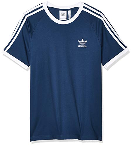 adidas Herren 3-Streifen T-Shirt, Night Marine, M