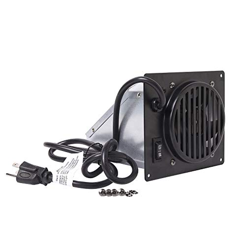Criditpid Replacement Vent-Free Wall Heater Fan, Vent Free Blower Accessory Kit for Mr. Heater, Dyna-Glo, Dyna-Glo 30,000 BTU, Comfort Glow Vent Free Heaters.