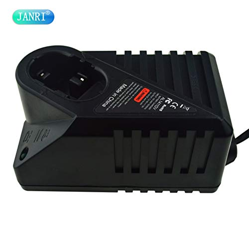 JANRI Replacement AL1411DV Ni-CD Ni-MH Power Tool Charger for Bosch 7.2V 9.6V 12V 14.4V Battery GSR7.2 GSR9.6 GSR12 GSR14.4 BAT038 BAT048 BAT043 BAT045 BTA120 Electrical Drill