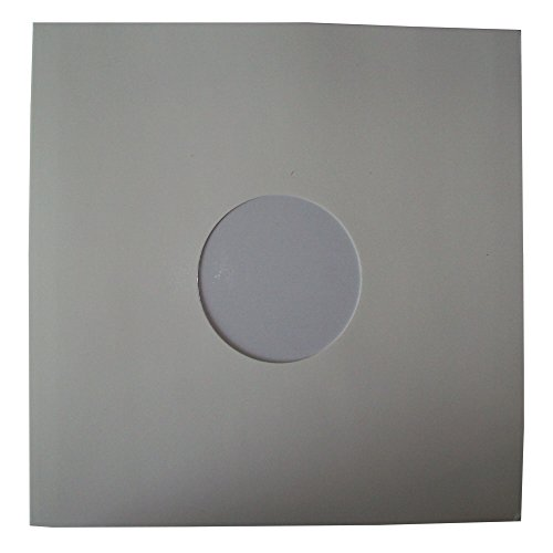 25 Quality Large Gloss Finish White Card 12' LP Record Vinyl...