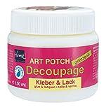 Kreul 48151 - Art Potch Decoupage Kleber und Lack glänzend, 150 ml, auf Wasserbasis, trocknet...