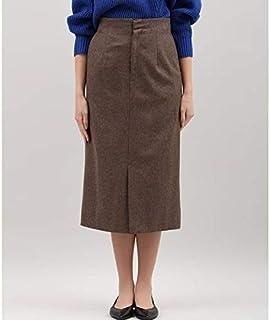 メゾンドベージュ(Maison de Beige) フラノタイトスカート