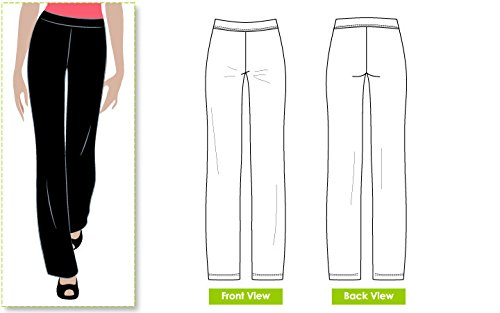 Style Arc Sewing Pattern - Linda Pant (Sizes 04-16) - Click for Other Sizes Available