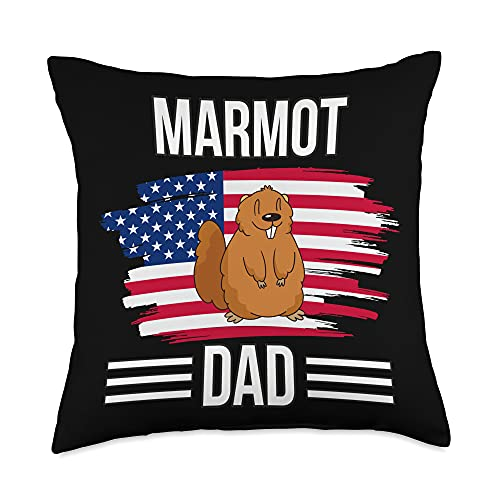 Funny Marmot Outfits US Flag 4th of July Father