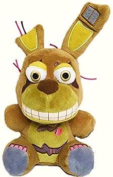 7   FNAF Plushies - FNAF Springtrap Plush Toys - Five Nights Freddy s Nightmare Springtrap Bonnie Cupcake FNAF s 3 Springtrap - Nightmare Collection - Stuffed Animal Kids Doll Gifts for FNAF Fan