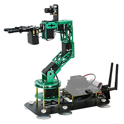 Yahboom Robot Arm with Camera 6-DOF for Jetson Nano Visual Identity AI Robotic Hand Building Kit...