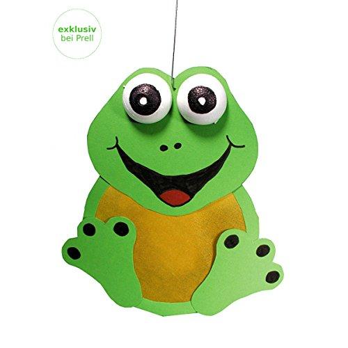 Laternen Bastelset Frosch 20 x 23 cm, 5 Stück