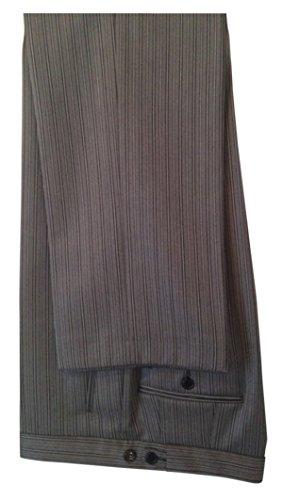 Gentleline Stresemannhose, grau/schwarz, 100% Schurwolle Größe 64