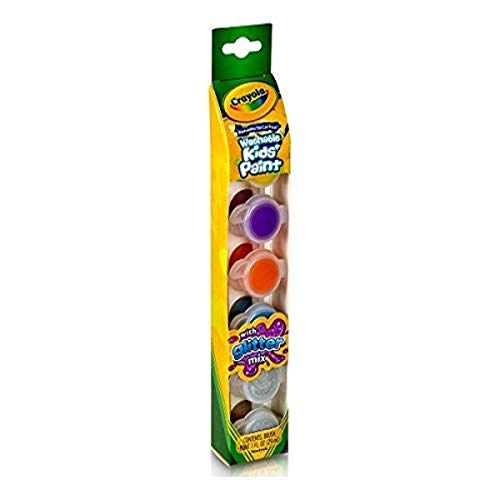 Crayola 6ct Washable Kid's Paint w/Glitter Special Effects