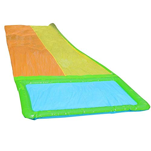 Buy Discount Fiaoen Waterslide, Multi-Size Outdoor Children's Summer Paddling PVC Single and Double ...