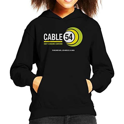 Cloud City 7 Ze leven kabel 54 Kid's Hooded Sweatshirt