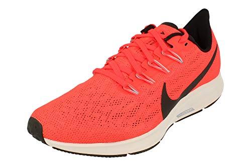 Nike Air Pegasus 36 Hombre Running Trainers AQ2203 Sneakers Zapatos (UK 8.5 US 9.5 EU 43, Bright Crimson Black Grey 600)