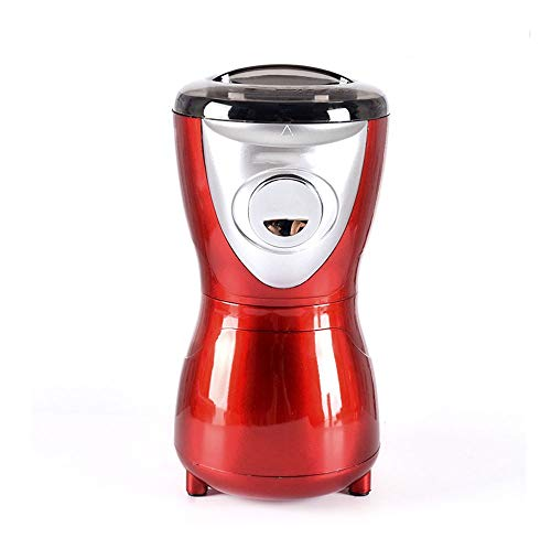 ZOUSHUAIDEDIAN Coffee Grinder Electric, Spice Grinder with Stainless Steel Blade & Bowl, One-Touch Control Coffee Bean Grinder for Nuts,Coffee Bean,Sugar, Grains,The Best Gift for Coffee Lovers