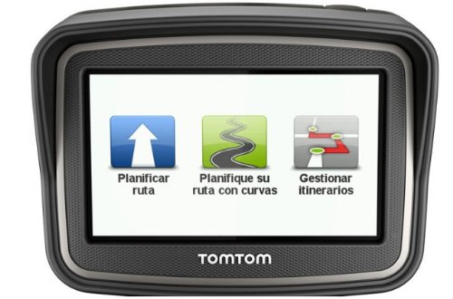 TomTom RIDER Premium Pack - GPS para motos de 4.3 pulgadas, negro