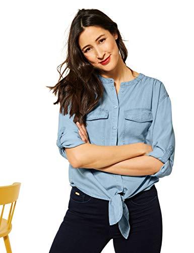 Street One Damen 342549 Bluse, original Blue, 38