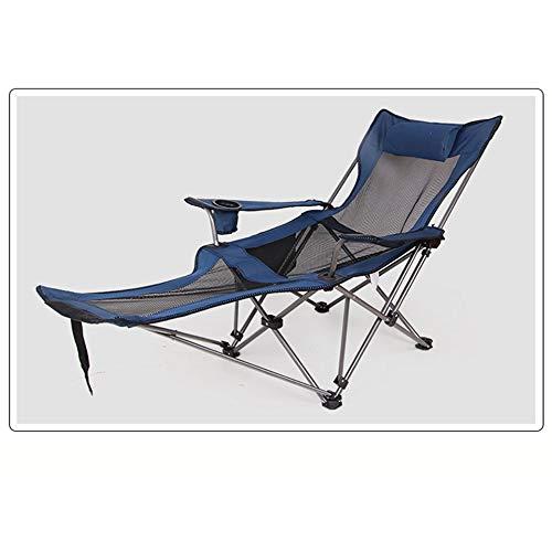 XDHN klapstoel, draagbaar, bureaustoel, Oxford-weefsel, lichte stof van roestvrij staal, voor toepassingen buitenshuis, camping, vissen