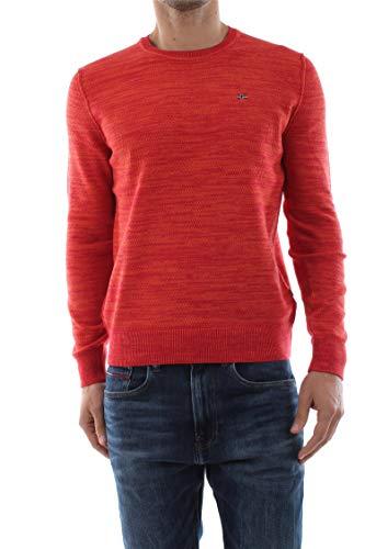 NAPAPIJRI Dueville Felpa, Rosso (True Red R70), Medium Uomo
