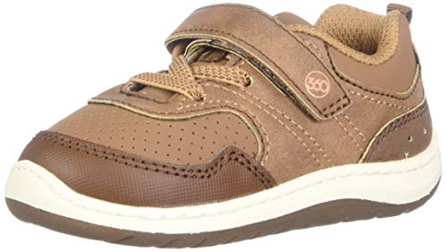 Stride Rite 360 Baby-Boy's SR Paxton Sneaker, Brown, 3 M US Infant