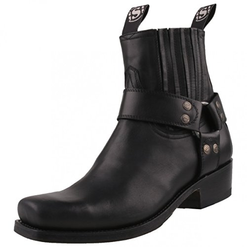 Sendra Boots, Stivali da motociclista donna, Nero (Nero), 42 EU